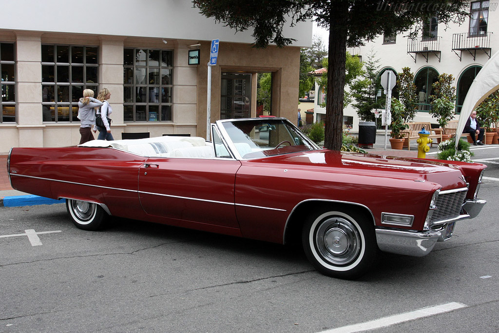 Cadillac Deville Convertible    - 2008 Concours on the Avenue
