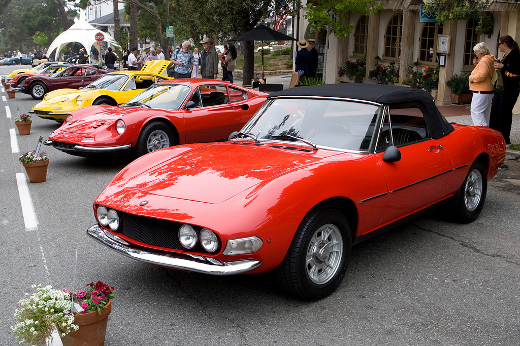 Fiat Dino Spyder    - 2008 Concours on the Avenue