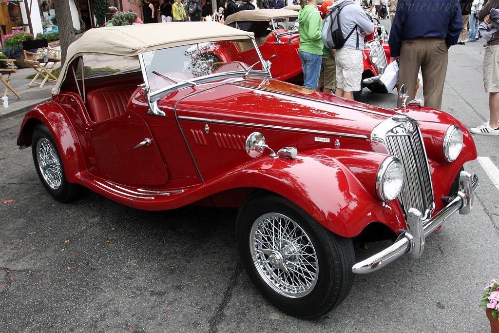 MG TF    - 2008 Concours on the Avenue