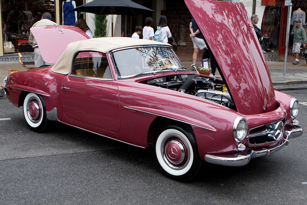 Mercedes Benz 190 SL    - 2008 Concours on the Avenue