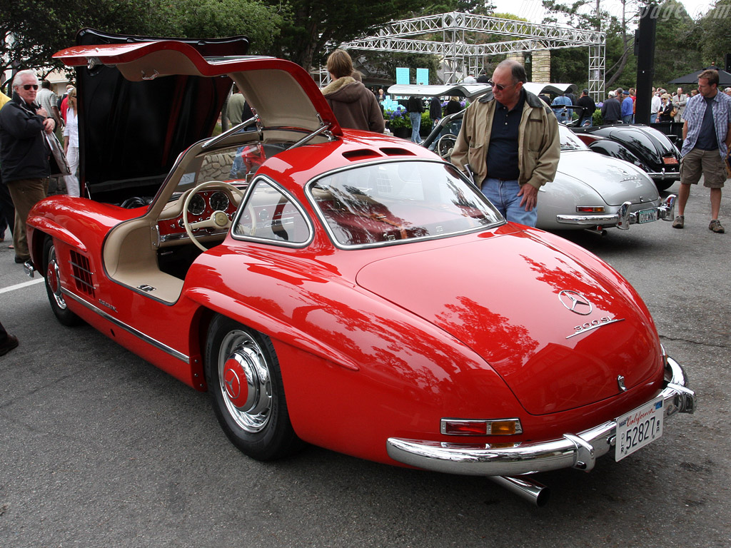 Mercedes benz 300 sl gull wing coupe 2008 concours on for 1946 mercedes benz
