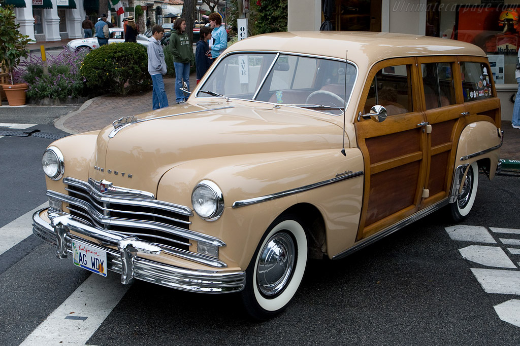 Plymouth P-18 Station Wagon    - 2008 Concours on the Avenue