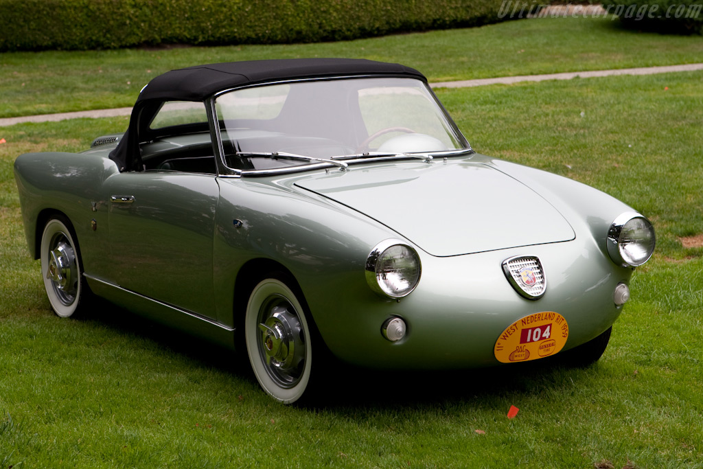 Abarth 750 Allemano Cabriolet    - 2009 Concours on the Avenue