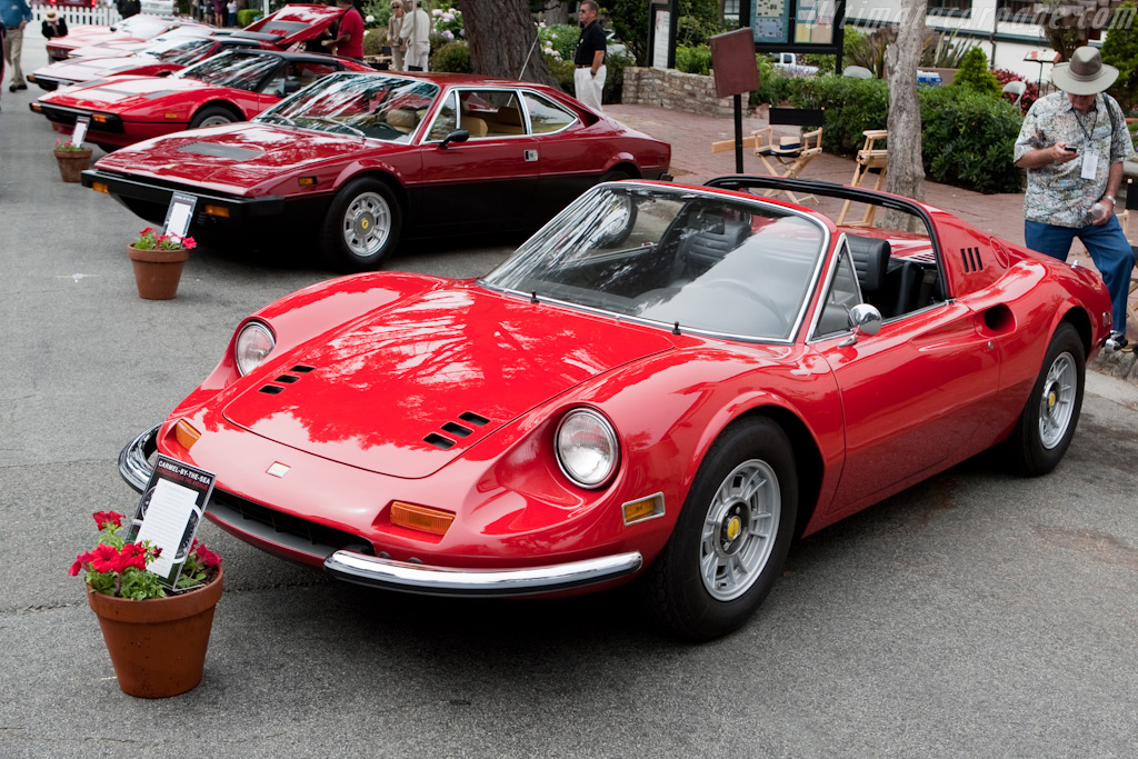 Ferrari 246 GTS    - 2009 Concours on the Avenue