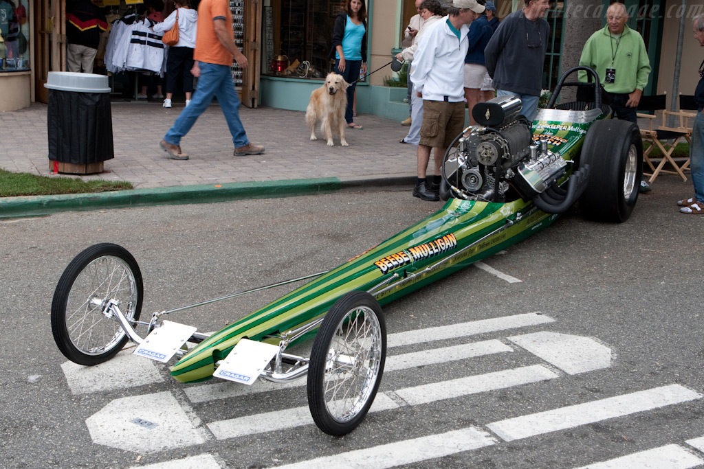 Fighting Irish Dragster    - 2009 Concours on the Avenue