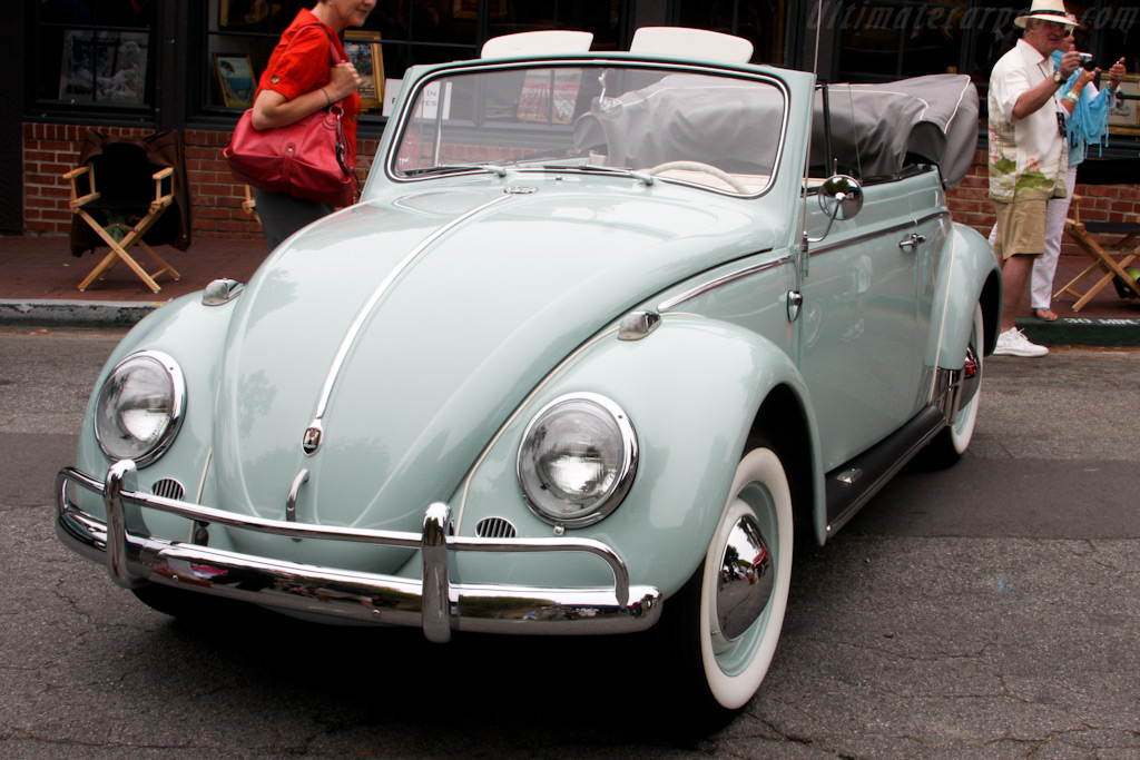 Volkswagen Beetle Convertible    - 2009 Concours on the Avenue