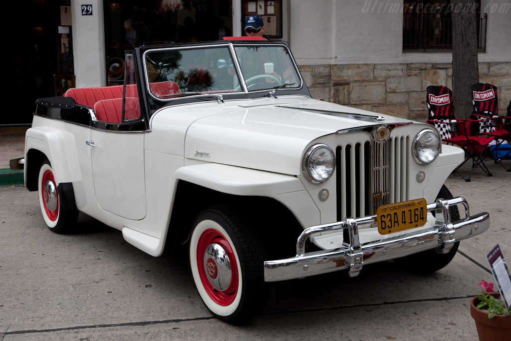 Willys Jeepster    - 2009 Concours on the Avenue
