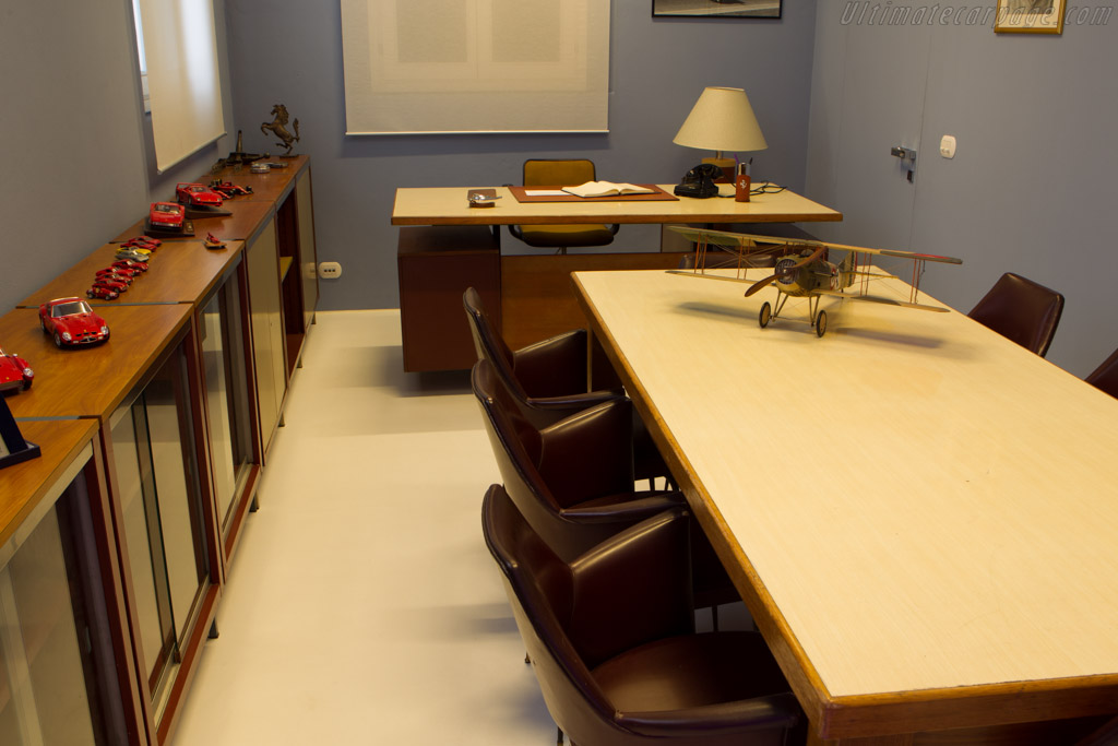 Enzo Ferrari's old office    - Museo Casa Enzo Ferrari