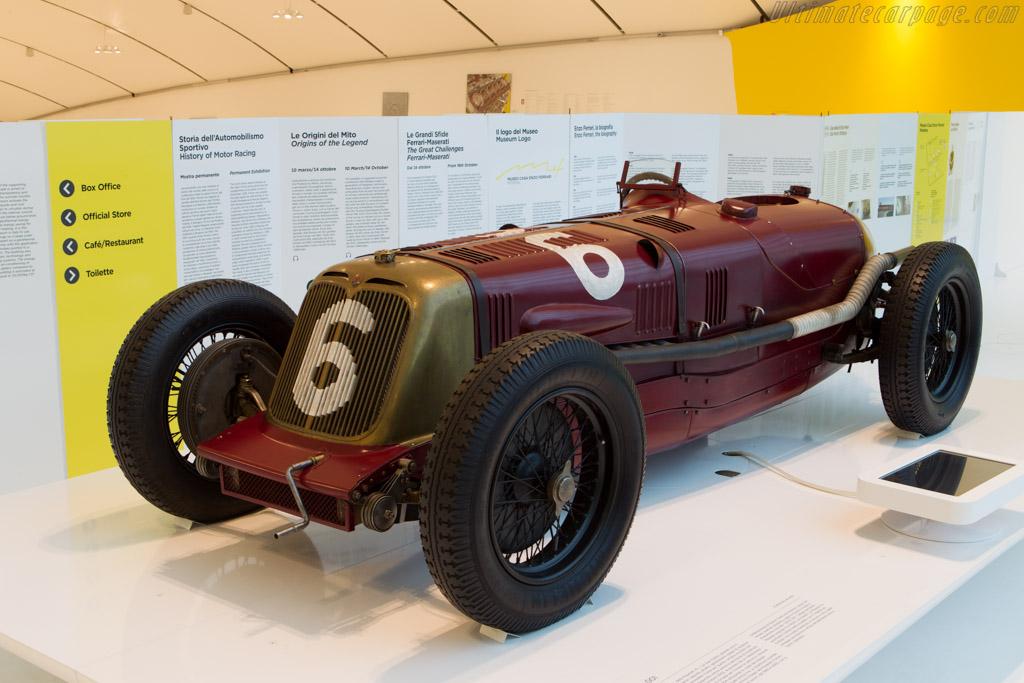 Maserati V5    - Museo Casa Enzo Ferrari