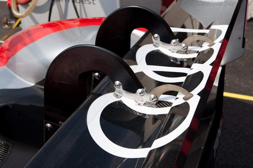 Audi's 'Swan-Necks' - Chassis: 202   - 2010 Le Mans Series Castellet 8 Hours