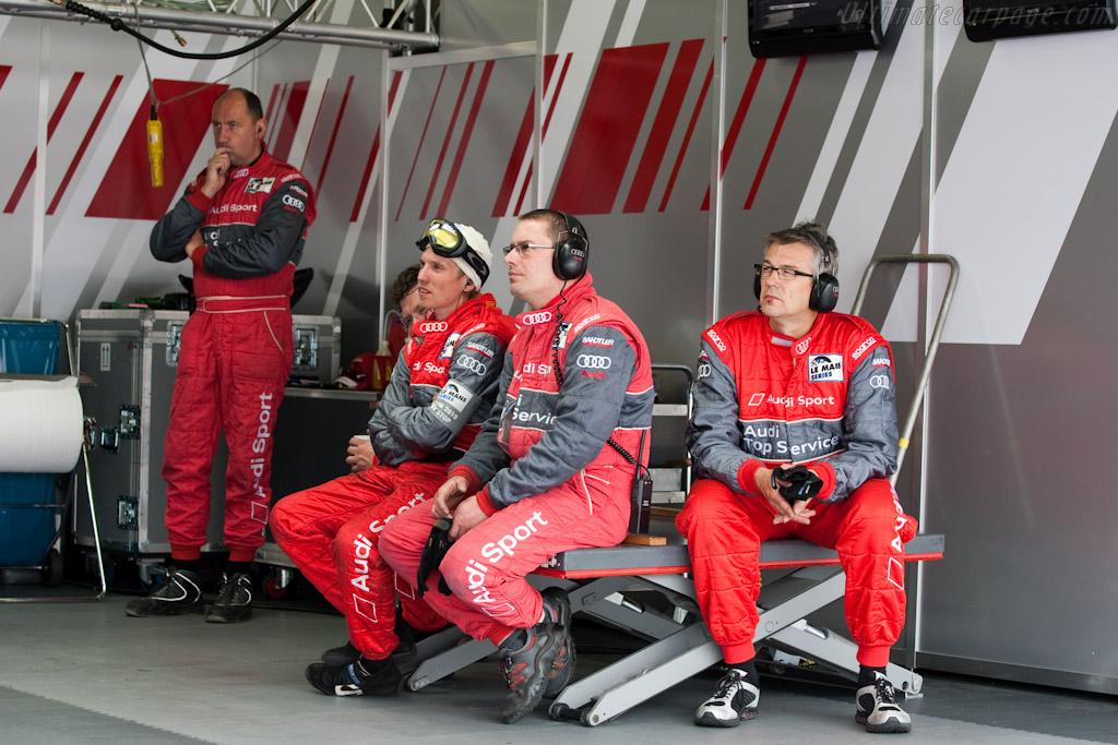 Audi team    - 2010 Le Mans Series Castellet 8 Hours