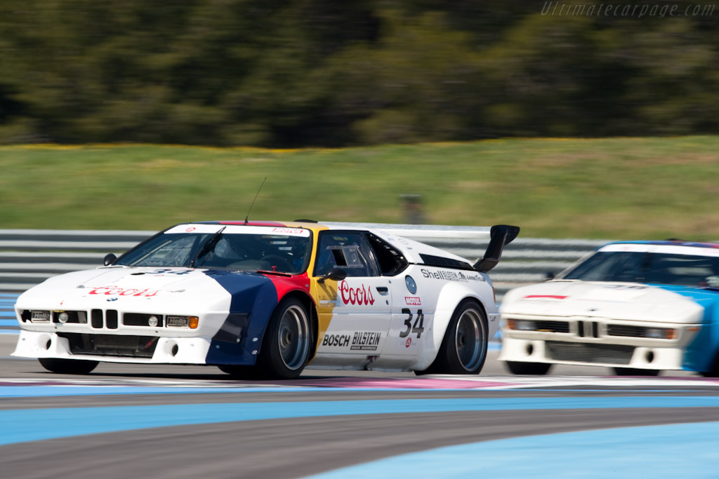 BMW M1 Group 4 - Chassis: 4301065   - 2010 Le Mans Series Castellet 8 Hours