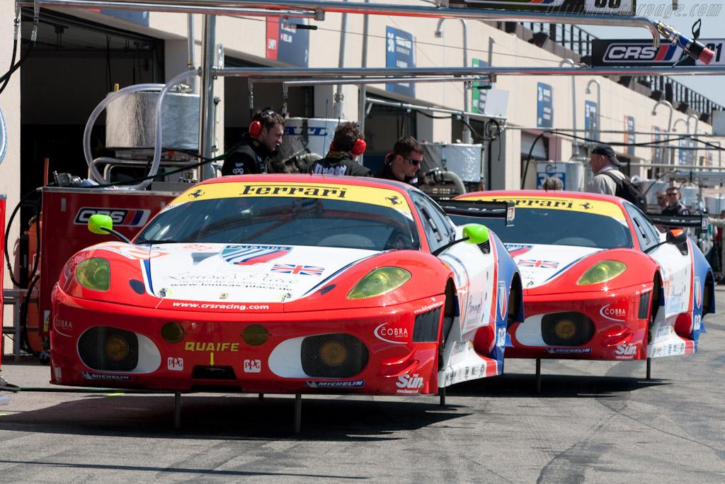 CRS Racing Ferraris - Chassis: 2612   - 2010 Le Mans Series Castellet 8 Hours