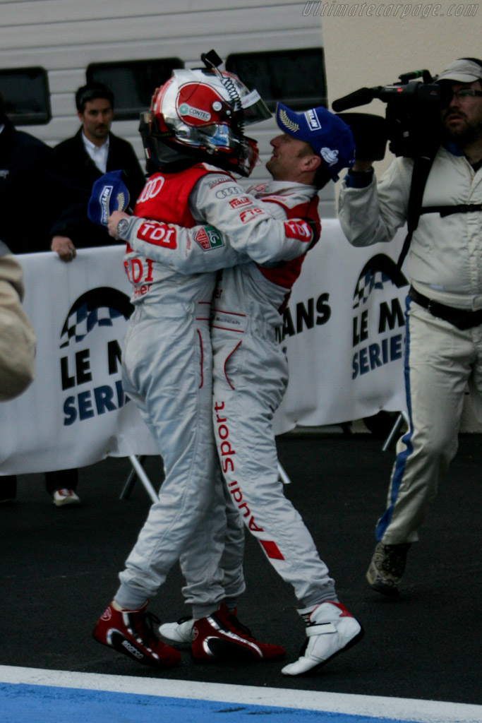 Capello and McNish    - 2010 Le Mans Series Castellet 8 Hours