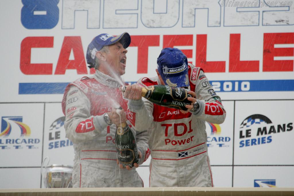 Champagne!    - 2010 Le Mans Series Castellet 8 Hours