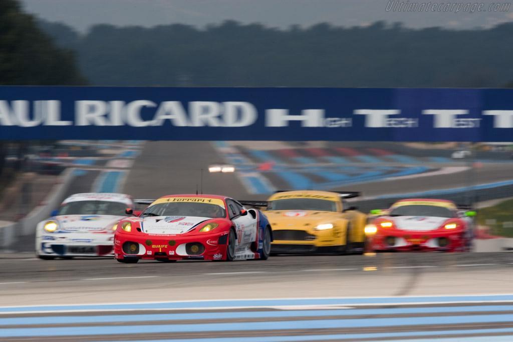 Close GT2 battle - Chassis: 2618   - 2010 Le Mans Series Castellet 8 Hours