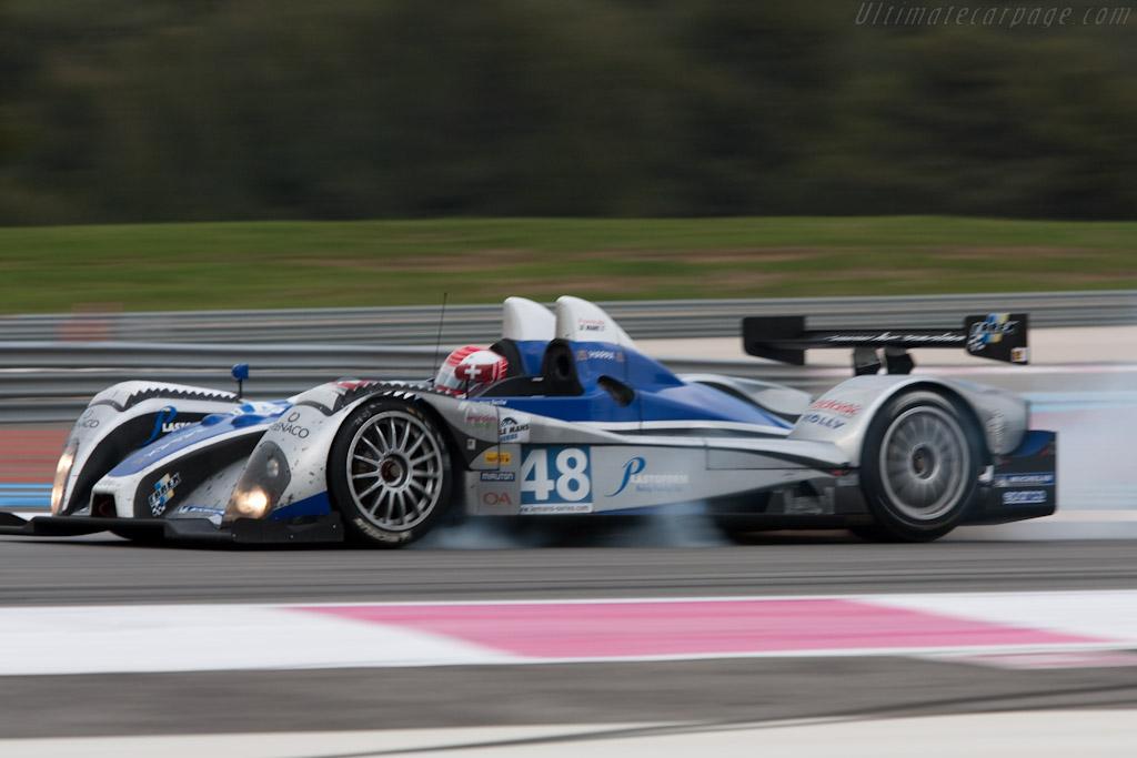 Courage-Oreca FLM09 - Chassis: FLM-2   - 2010 Le Mans Series Castellet 8 Hours