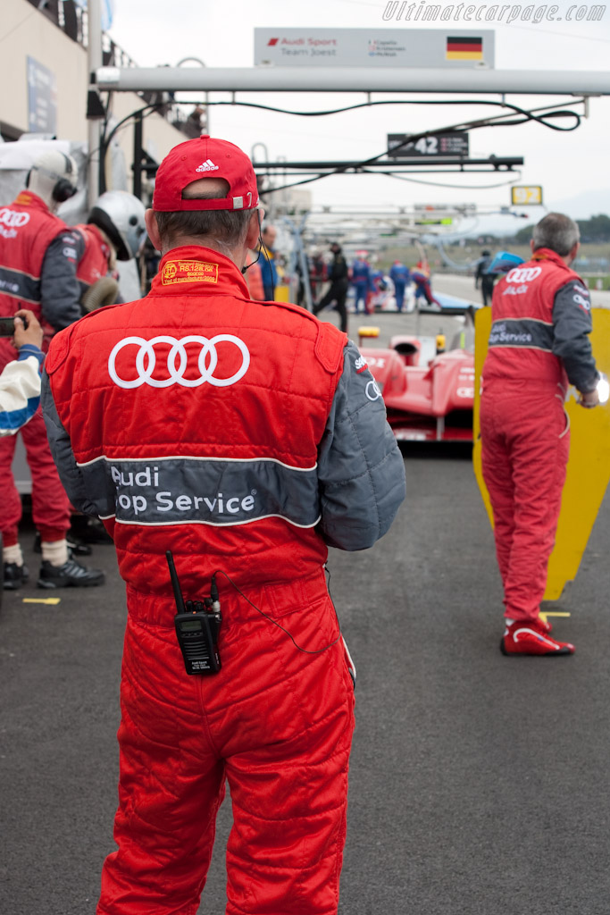Dr Wolfgang Ulrich    - 2010 Le Mans Series Castellet 8 Hours