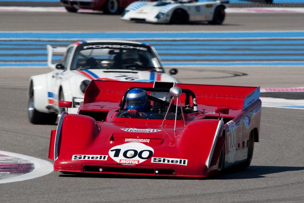 Ferrari 712 Can-Am - Chassis: 1010 - Driver: Paul Knapfield  - 2010 Le Mans Series Castellet 8 Hours