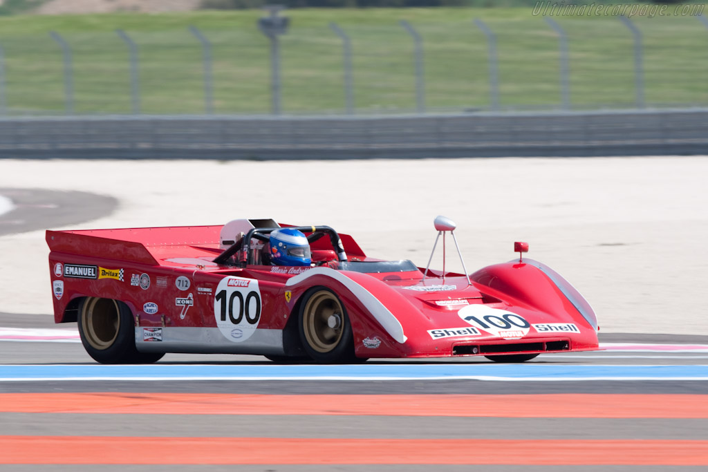 Ferrari 712 Can-Am - Chassis: 1010 - Driver: Paul Knapfield  - 2010 Le Mans Series Castellet 8 Hours