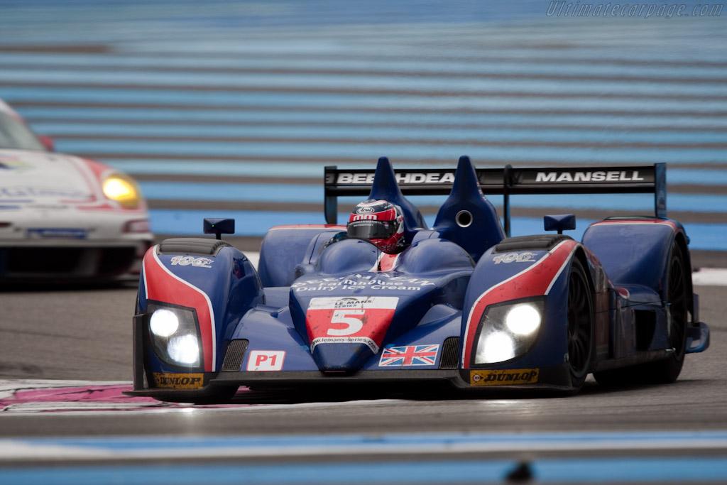 Ginetta-Zytek 09SB - Chassis: 09S-04   - 2010 Le Mans Series Castellet 8 Hours