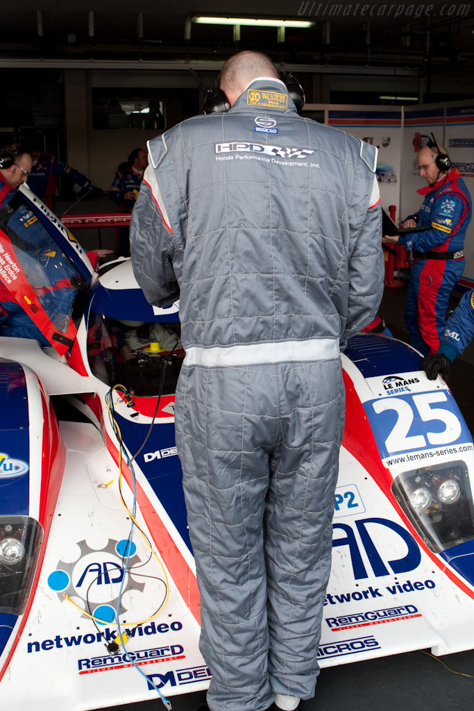 HPD debut in Europe - Chassis: B0880-HU03   - 2010 Le Mans Series Castellet 8 Hours