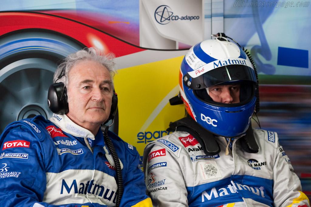 Hughues de Chaunac and Olivier Panis    - 2010 Le Mans Series Castellet 8 Hours