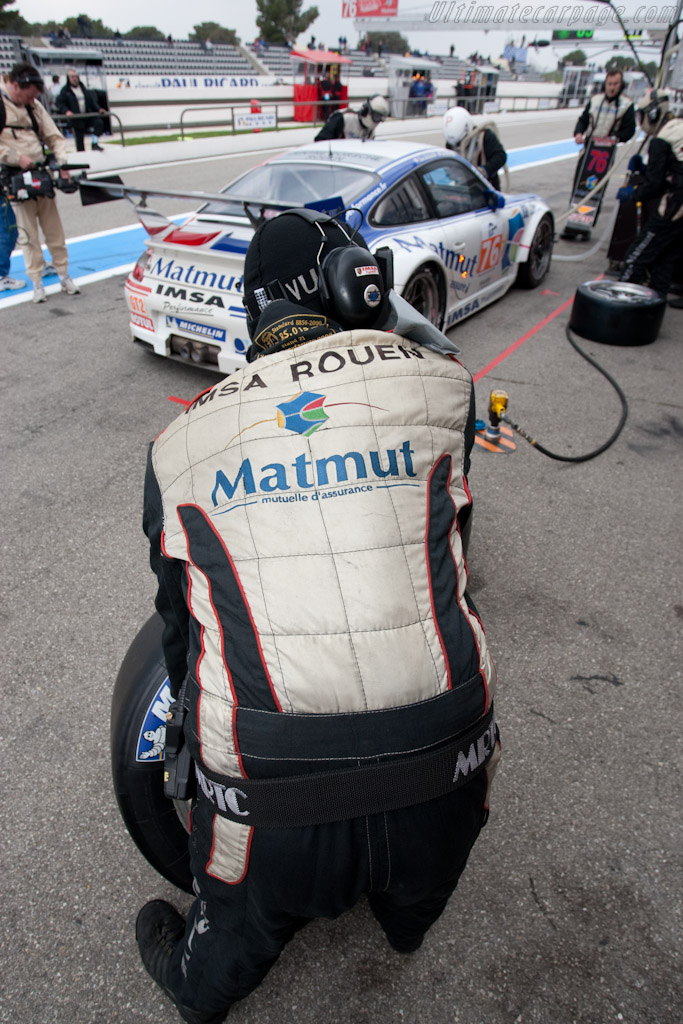 IMSA Performance stop    - 2010 Le Mans Series Castellet 8 Hours