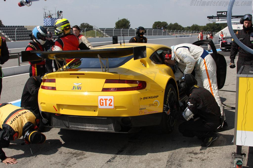 JMW's new V8 Vantage - Chassis: GT2/006   - 2010 Le Mans Series Castellet 8 Hours