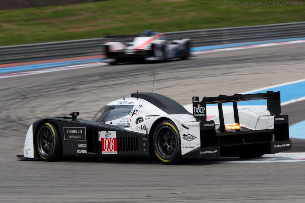 Lola-Aston Martin B09/60 - Chassis: B0960-HU03S   - 2010 Le Mans Series Castellet 8 Hours