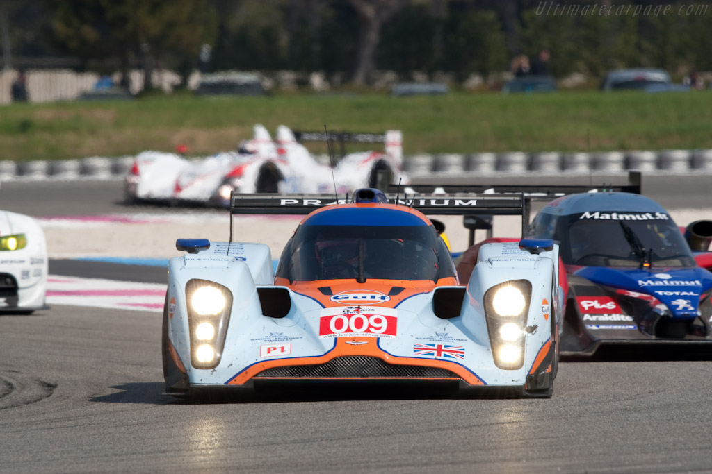 Lola-Aston Martin B09/60 - Chassis: B0960-HU01S   - 2010 Le Mans Series Castellet 8 Hours