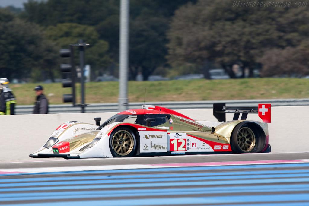 Lola B10/60 Rebellion - Chassis: B1060-HU01   - 2010 Le Mans Series Castellet 8 Hours