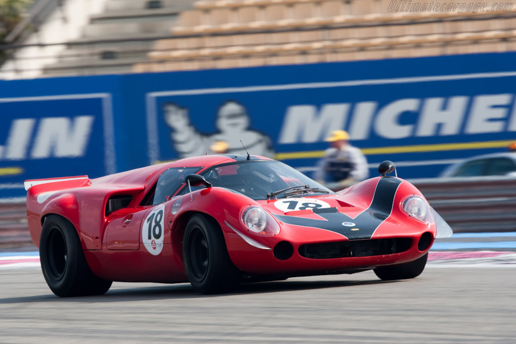 Lola T70 Mk3 Coupe - Chassis: SL73/110 - Driver: Bernard Thuner  - 2010 Le Mans Series Castellet 8 Hours