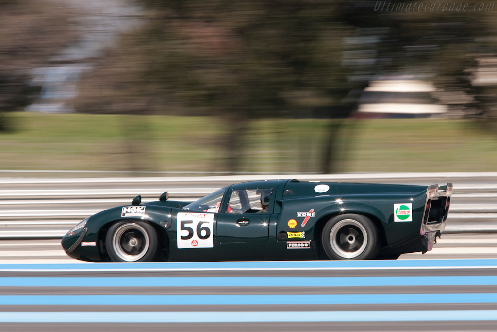 Lola T70 Mk3 Coupe - Chassis: SL73/113 - Driver: Marc Devis - 2010 Le Mans Series Castellet 8 Hours