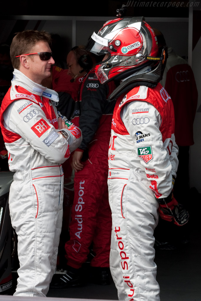McNish and Capello    - 2010 Le Mans Series Castellet 8 Hours