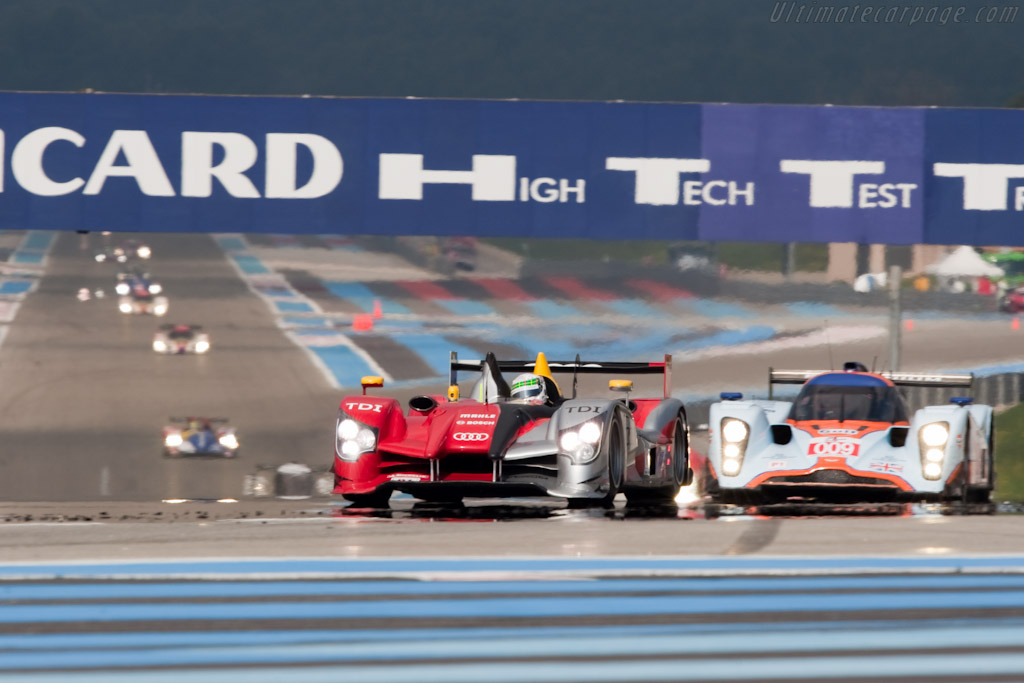McNish grabs the lead - Chassis: 202   - 2010 Le Mans Series Castellet 8 Hours