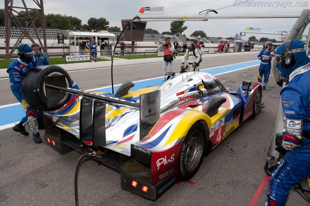 Oreca stop - Chassis: 908-04   - 2010 Le Mans Series Castellet 8 Hours