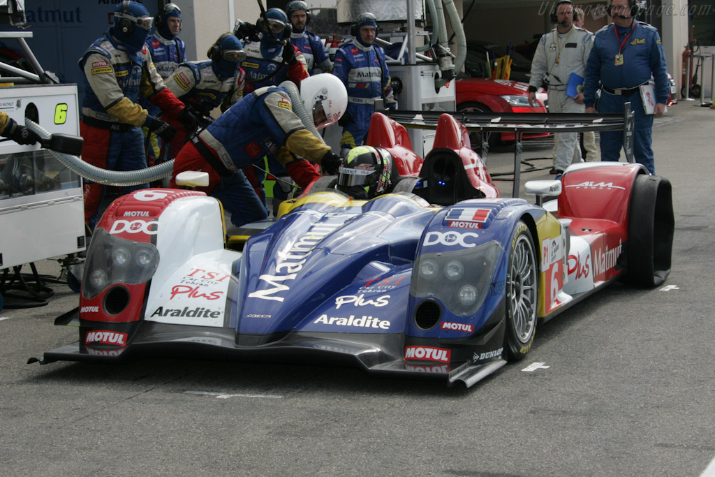 Puncture for Oreca - Chassis: 02   - 2010 Le Mans Series Castellet 8 Hours