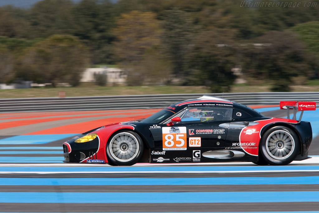 Spyker C8 Laviolette GT2-R - Chassis: XL9AB01G37Z363190   - 2010 Le Mans Series Castellet 8 Hours