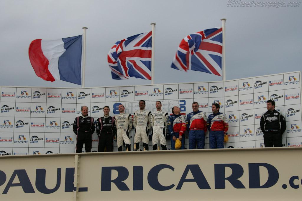 The LMP2 Podium    - 2010 Le Mans Series Castellet 8 Hours