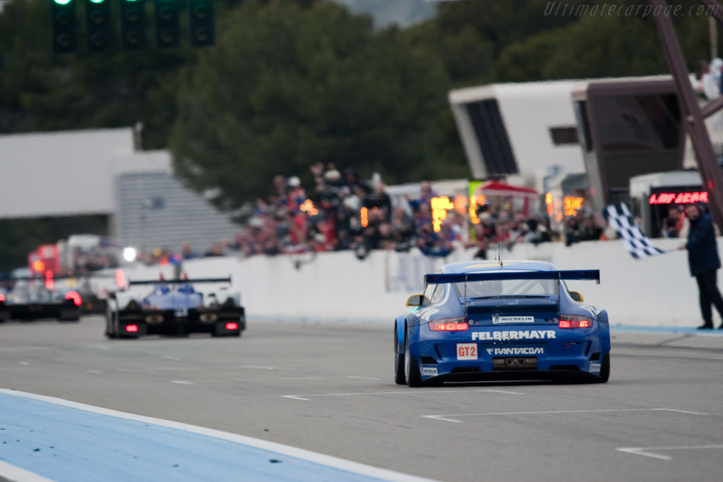 The finish - Chassis: WP0ZZZ99Z9S799918   - 2010 Le Mans Series Castellet 8 Hours