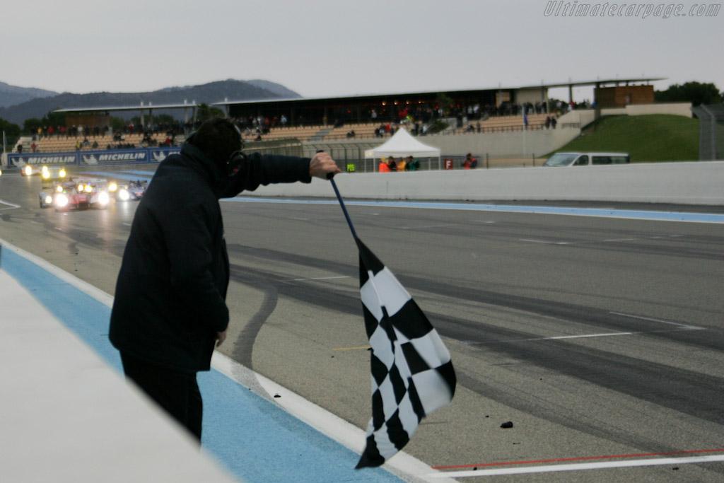 The finish    - 2010 Le Mans Series Castellet 8 Hours