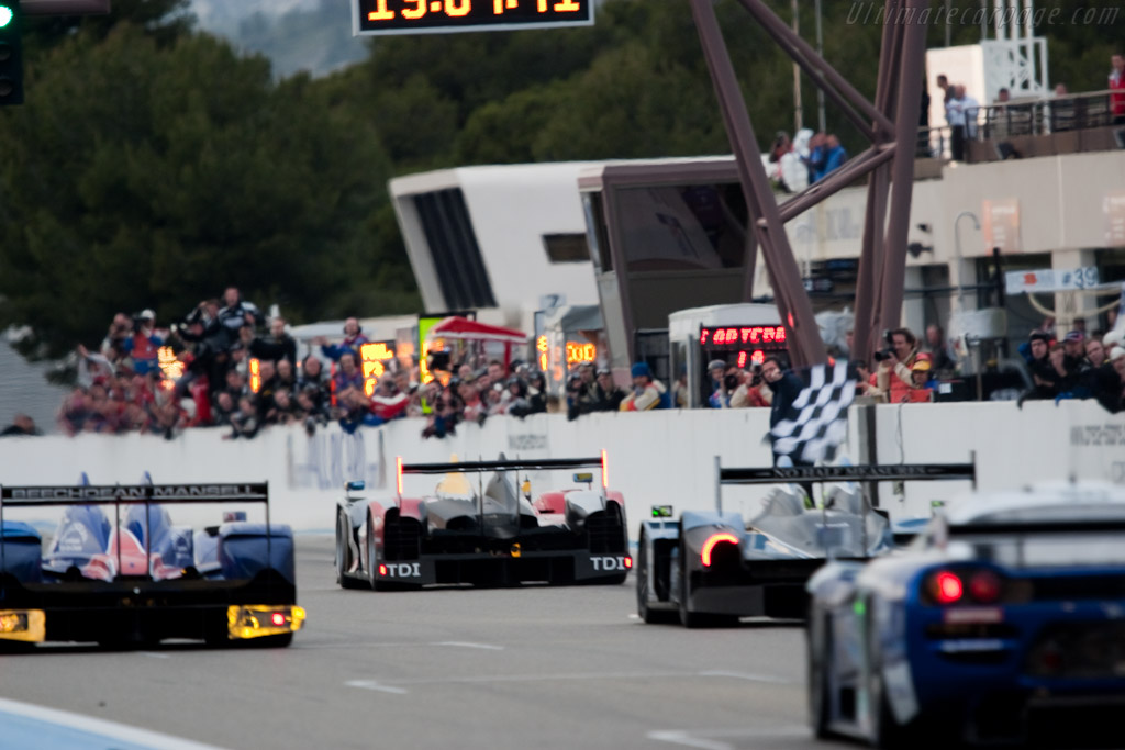 The finish - Chassis: 202   - 2010 Le Mans Series Castellet 8 Hours