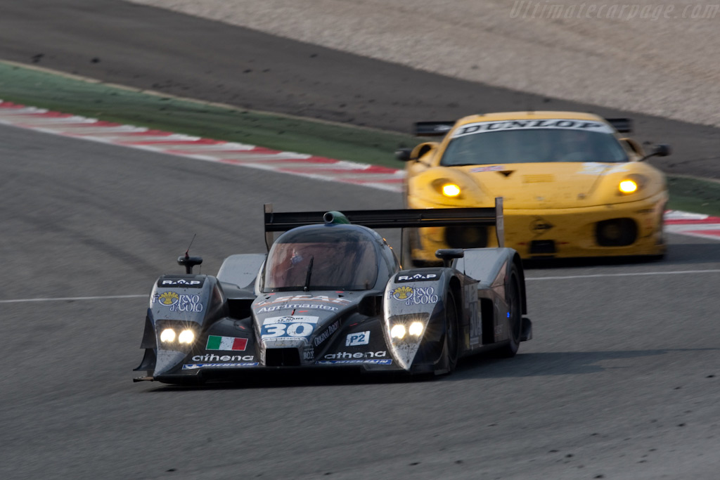 1st in LMP2 and 2nd in GT2 - Chassis: B0980-HU04   - 2009 Le Mans Series Catalunya 1000 km