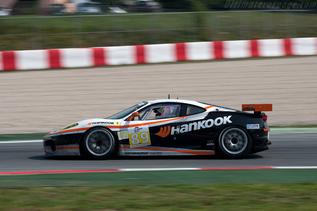 A New Tire Supplier Chassis 2608 2009 Le Mans Series