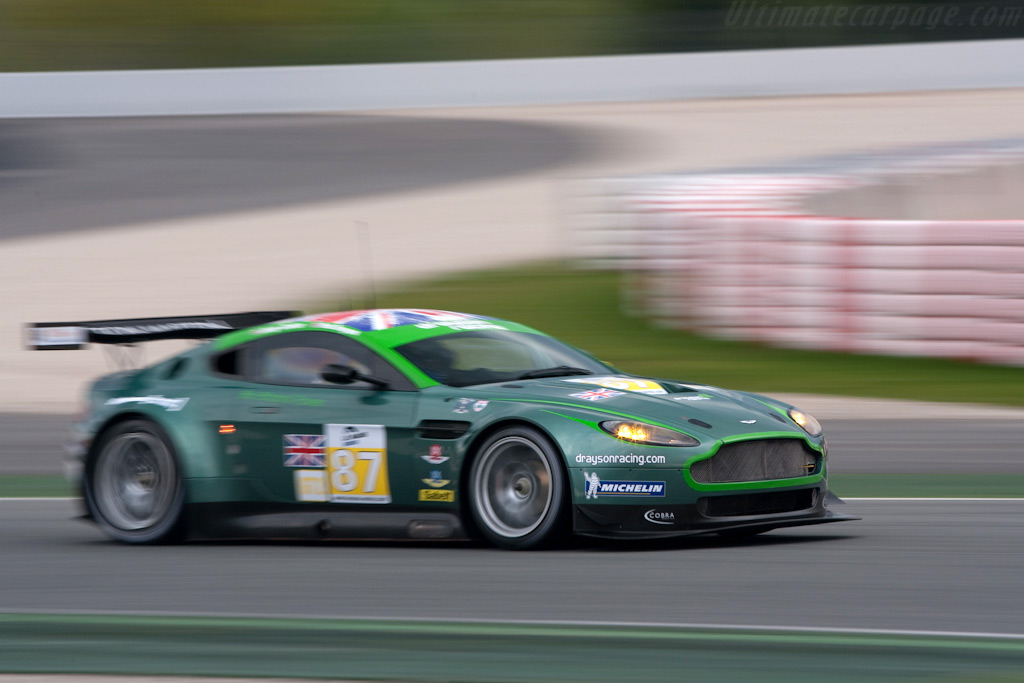 Aston Martin V8 Vantage GT2 - Chassis: GT2/002   - 2009 Le Mans Series Catalunya 1000 km