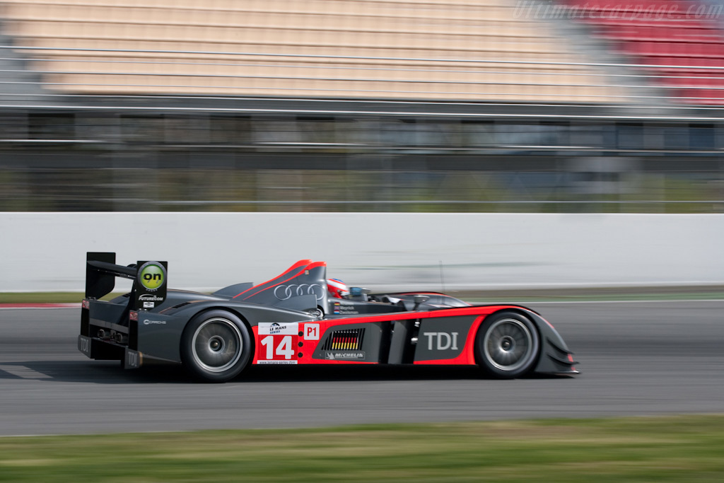 Audi Le Mans 2018 >> Audi R10 TDI - Chassis: 201 - 2009 Le Mans Series Catalunya 1000 km