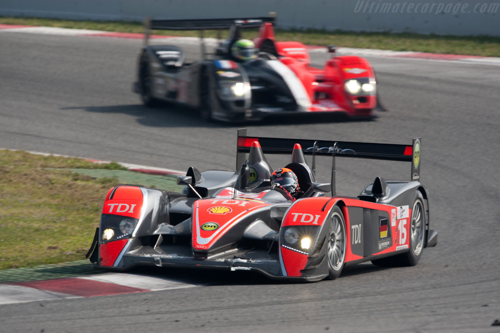 Christijan Albers stuck in the mid-field - Chassis: 201   - 2009 Le Mans Series Catalunya 1000 km
