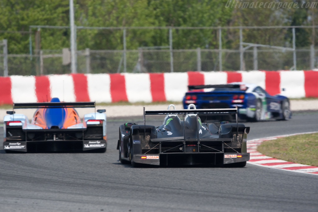 Different cars, equal pace - Chassis: 01-08   - 2009 Le Mans Series Catalunya 1000 km