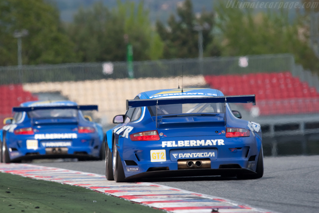 Felbermayr Porsches - Chassis: WP0ZZZ99Z9S799911   - 2009 Le Mans Series Catalunya 1000 km